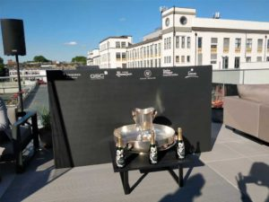 Dj Booth at Farringdon Rooftop Event
