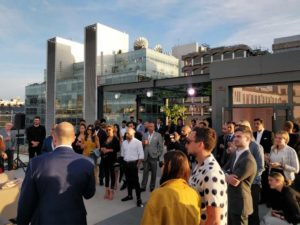 Farringdon Rooftop Event Postmark Guests
