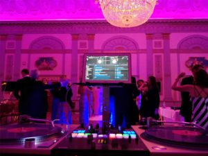 Guests Dancing Lighting DJ Service
