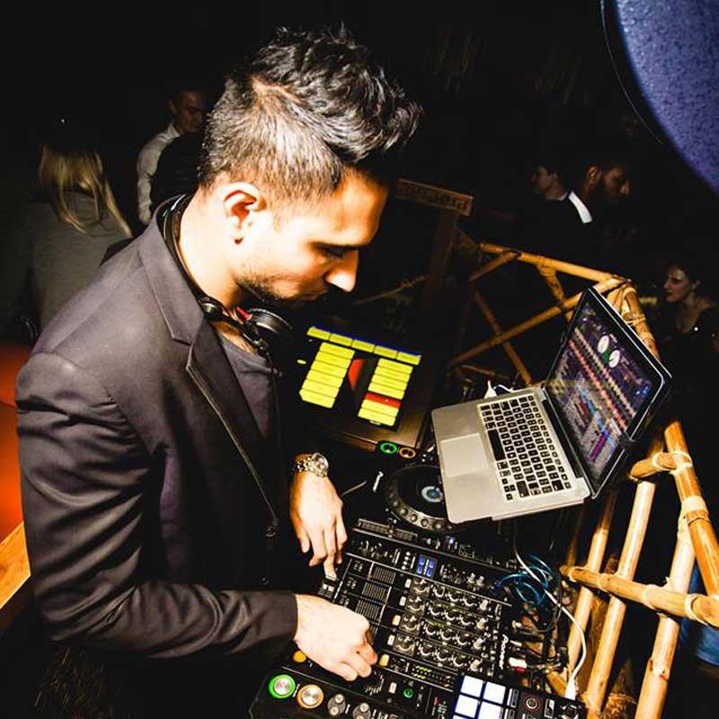 DJ Vik Toreus London Nightclub