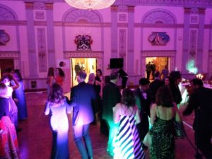 Dance floor party at Plaisterers Hall