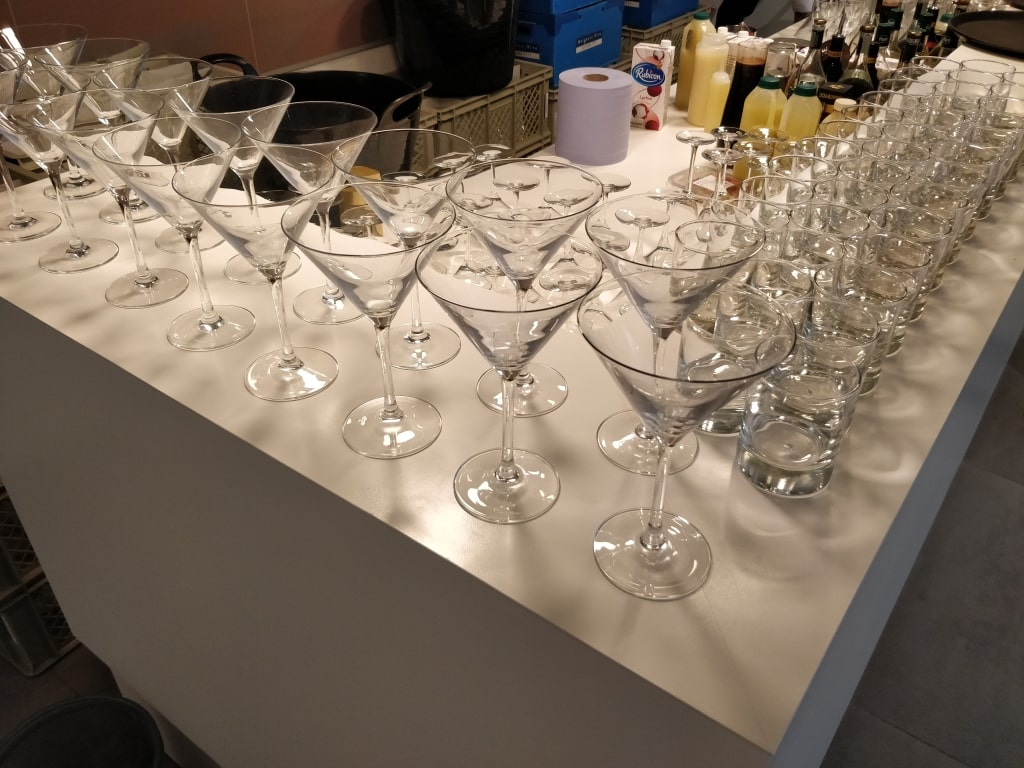 Mosa Clerkenwell Design Week Glasses Bar