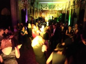 UCL Christmas Party Dance floor Law Society