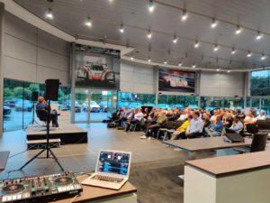 Guests At Porsche Event August 2019