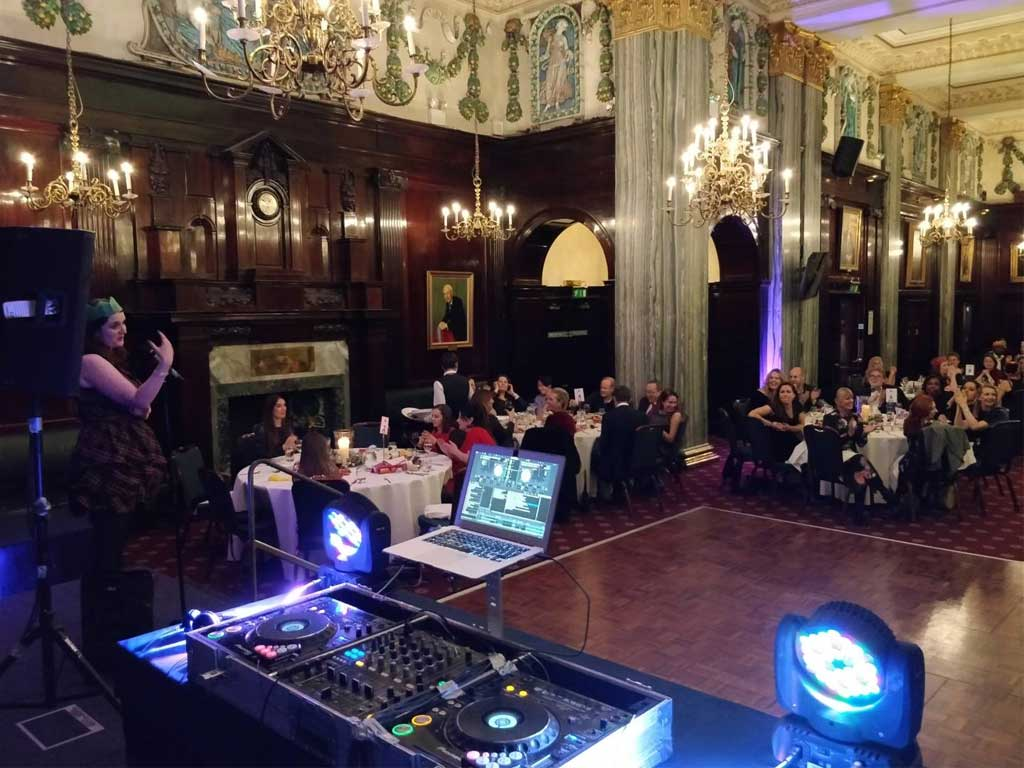 Christmas Party DJ Hire CDJs
