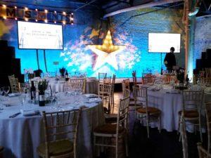 Main stage view P&G gala awards