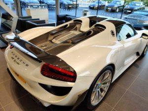 Porsche Event Syder 918 London