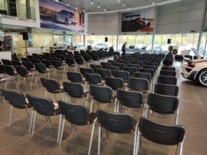 Porsche East London Seating Area