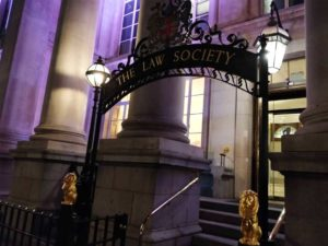 UCL Law Society Christmas Party Entrance