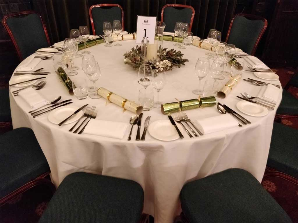 Party Table Law Society London