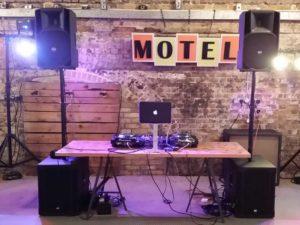 DJ Agency Booth Motel Studios