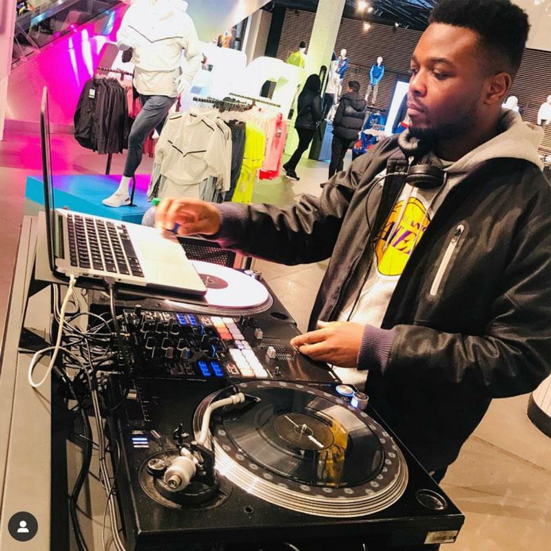 DJ Moto At Niketown London