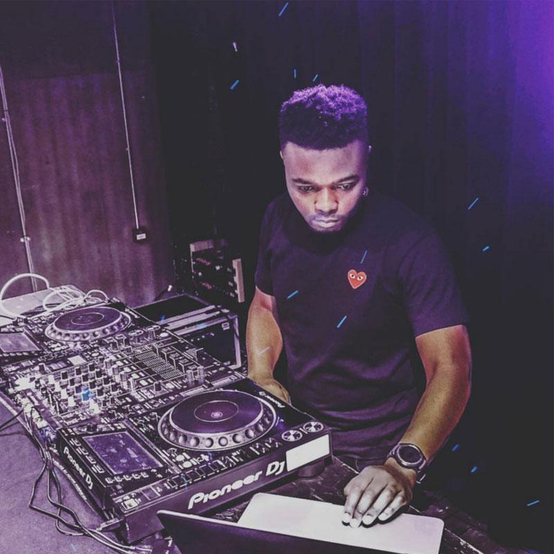 DJ Moto Playing At London Nightclub