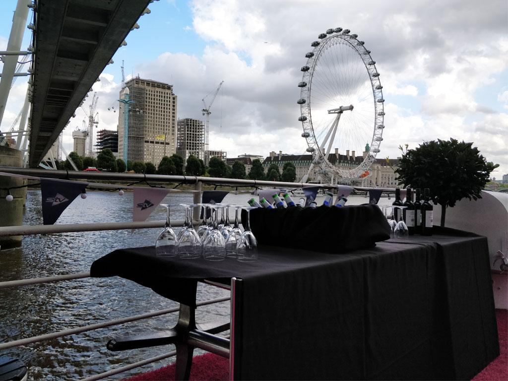 RS Hispaniola Boat London Eye