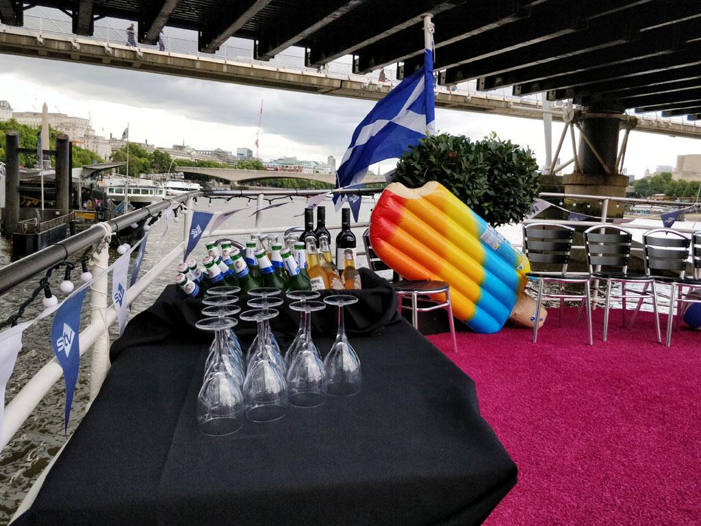 RS Hispaniola Boat Tables