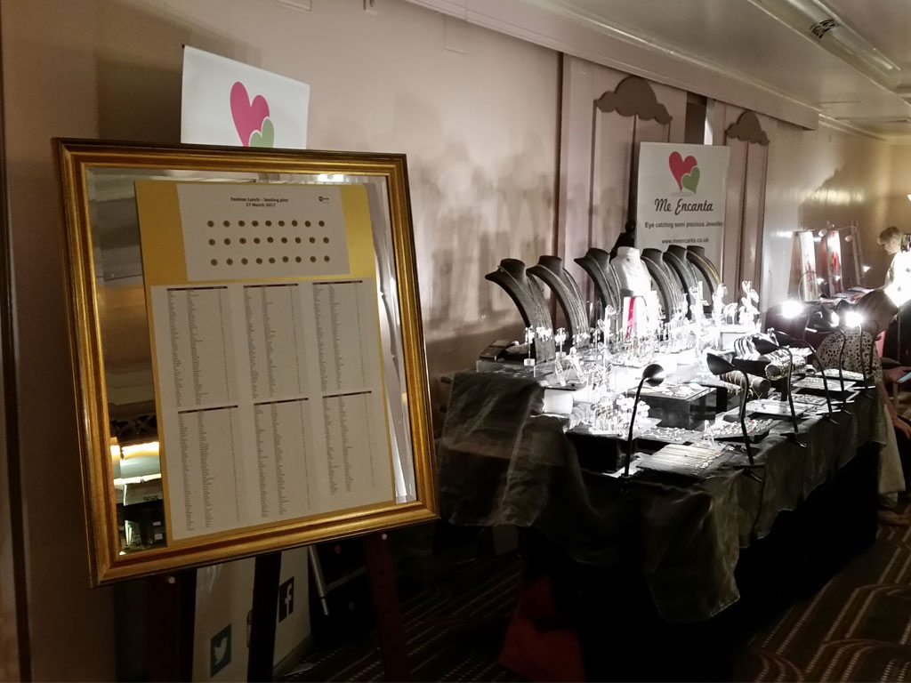Sheraton Hotel Table Plan Fashion Event