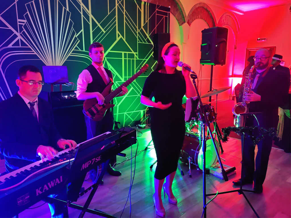 Great Gatsby Party Band