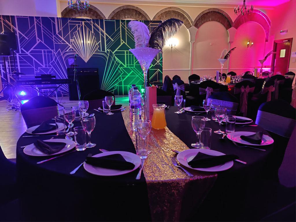 Great Gatsby Table & Decor