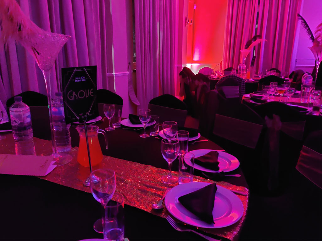Table Dressing At London Party