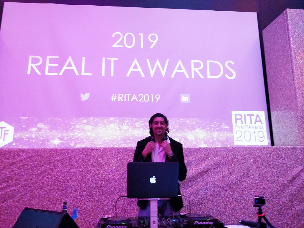DJ SR Chelsea Real IT Gala 2019