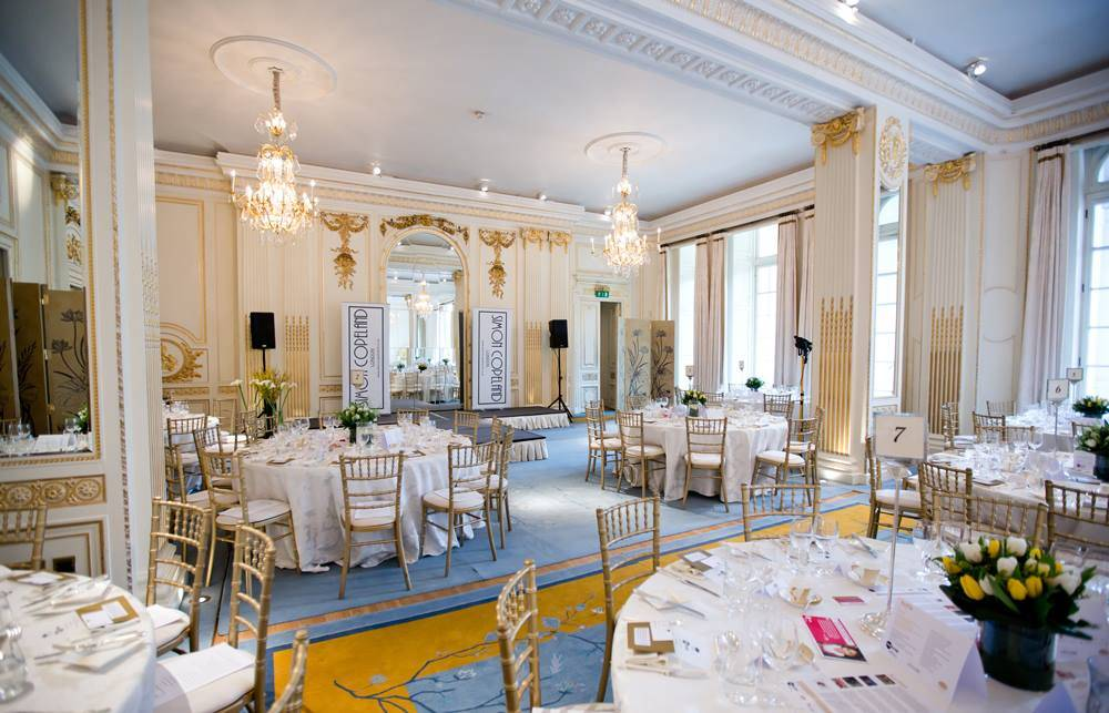 Mandarin Oriental Hotel Function Room London Events