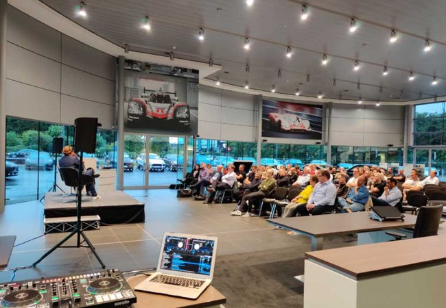 Guests At Porsche Event August 2019