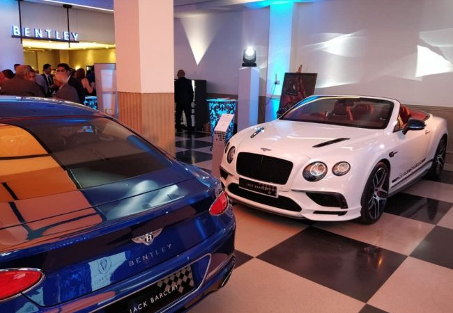 Jack Barclay Bentley Showroom Mayfair Cars