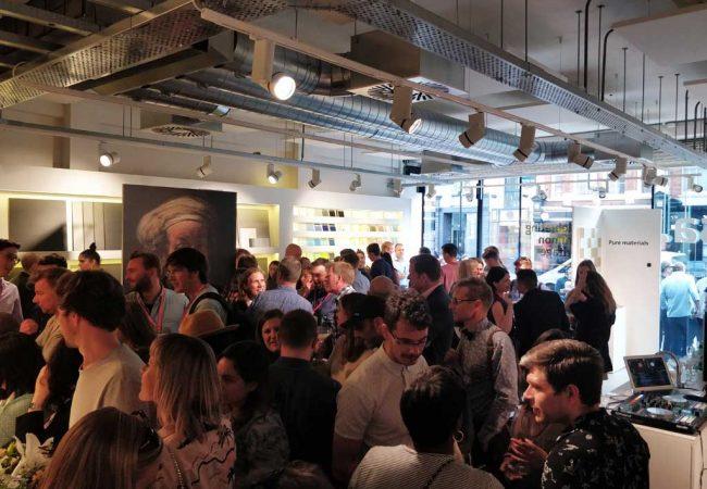 Mosa-Tiles-Clerkenwell-Design-Week-Crowd