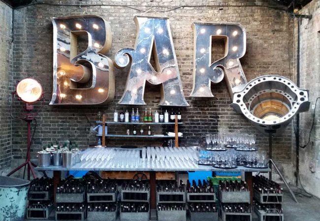 Bar area at MC Motors P&G gala awards