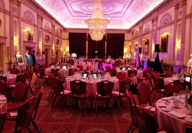 Charity Event Plaisterers Hall Main BallRoom