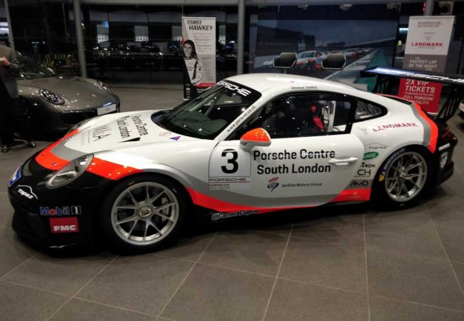 Porsche South London Racing Car